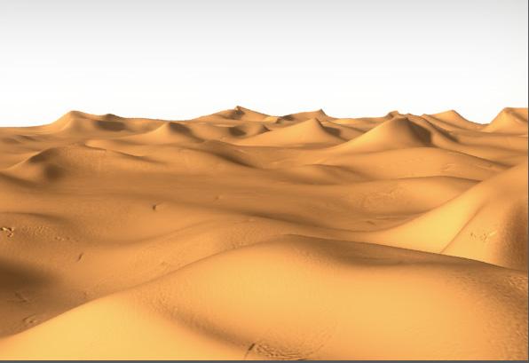 3d sand dunes