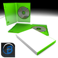 Green DVD case /xbox case