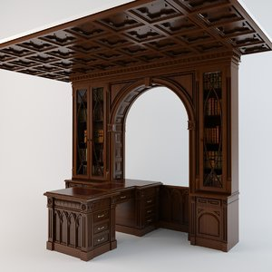 3ds max classic cabinet