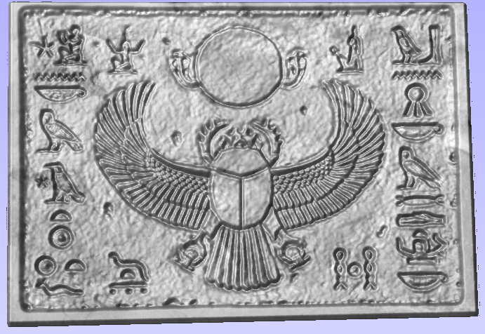 3ds egypt relief