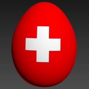 3d egg model