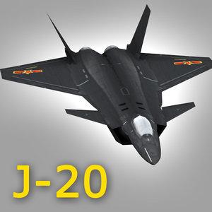 3d prototype jet fighter model