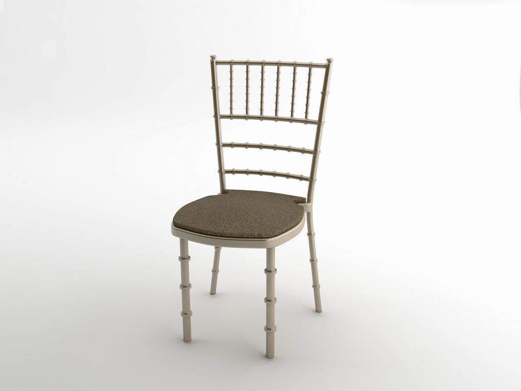 chair interior 3d dwg