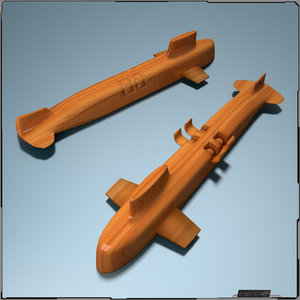 3d toy sub model
