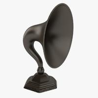 Vintage Talking Machine Horn