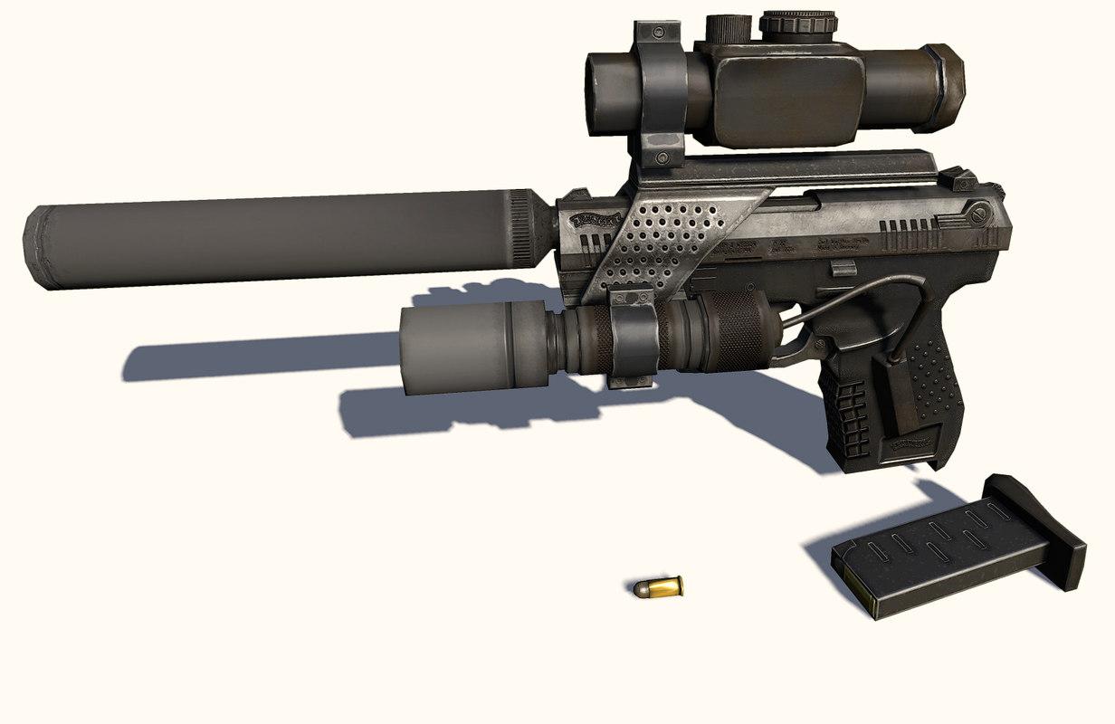3d nextgen walther gun