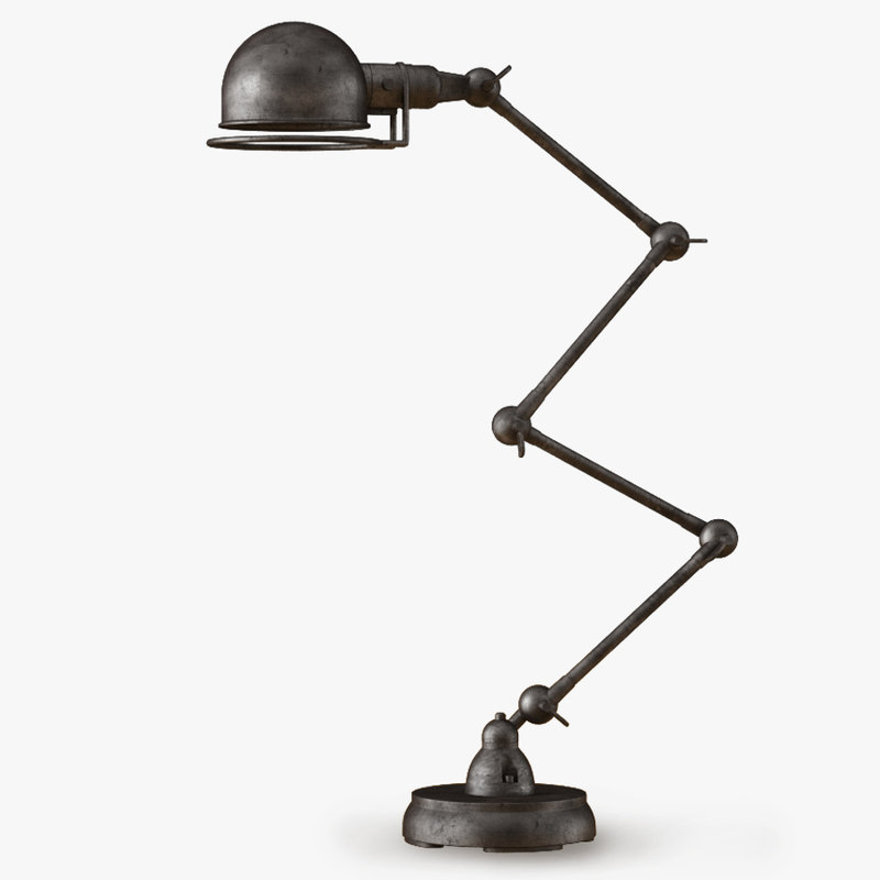 atelier scissor task table lamp 3d max
