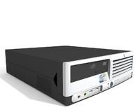hp dc5100 3d model