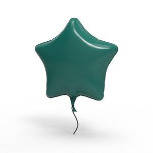 maya star balloon