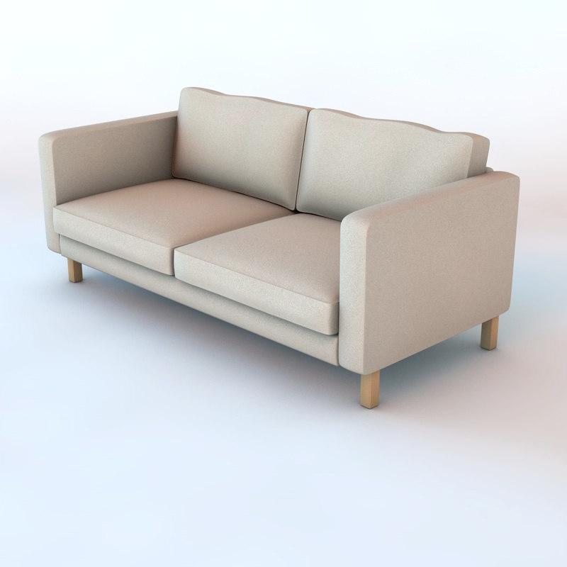 3d ikea sofa