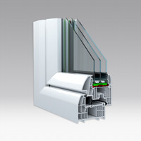 3d model window profile
