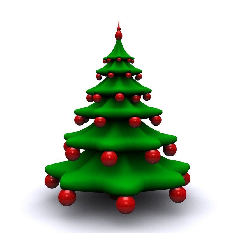 3d Christmas Tree.Christmas Tree 1