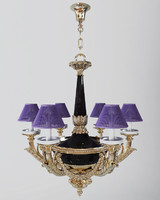 chandelier antique 3d model