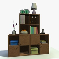 3d cabinet decor