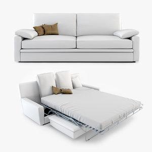 max biba salotti piuma sofa