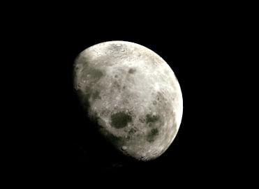 moon 3d blend