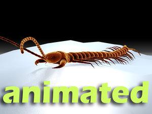 3d centipede dynamic ik model