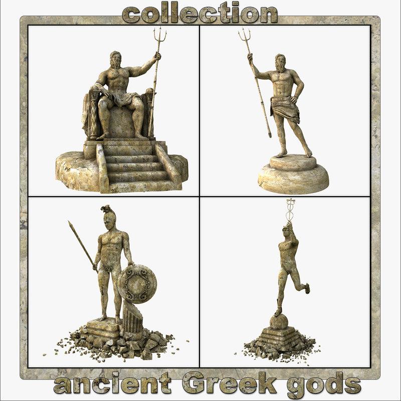 3ds max ancient greek gods