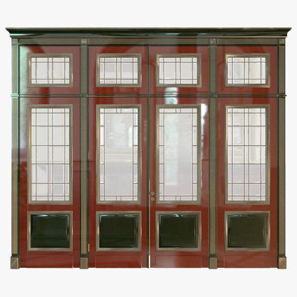 classic wood door max