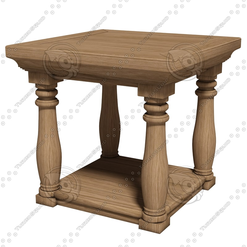 eichholtz table lombardi 3d model