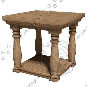 eichholtz table lombardi 3d model