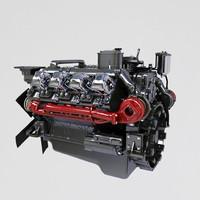 Kamaz diesel engine