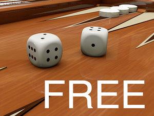 dice obj free