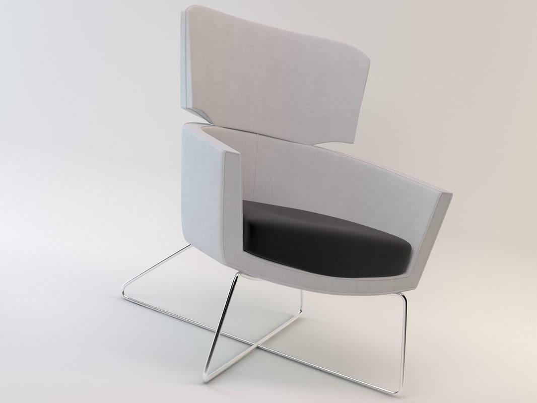 3d kalm chair