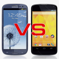 Google Nexus 4 VS Samsung Galaxy SIII