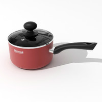 saucepan pan 3d model