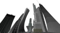 Cartoony Buildings