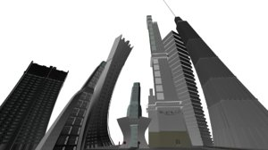 cartoony buildings max free