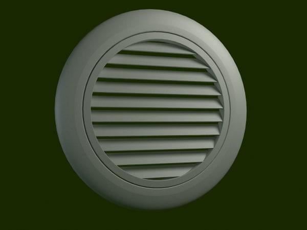 wall air 3d model