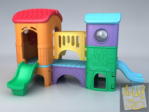 3d - clubhouse model