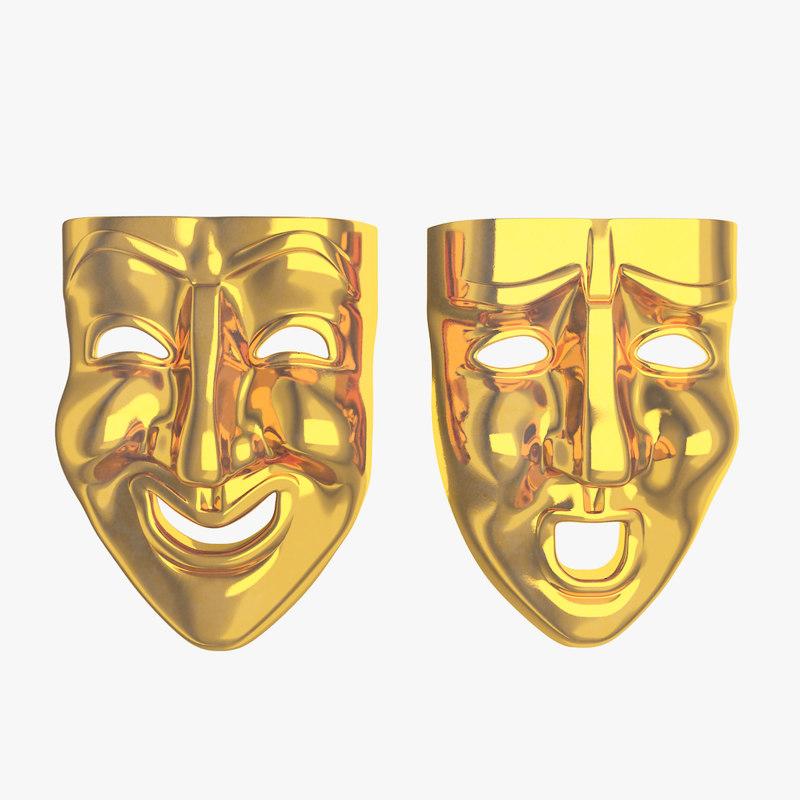 3d masks model