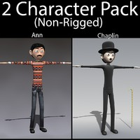 3d character pack 03 guy