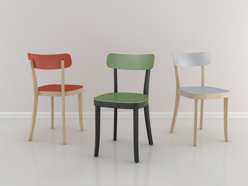 3ds max basel chair