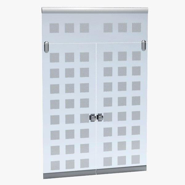 3d model door office