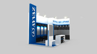 3d ayvaz exhbition design power-gen
