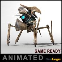 3d model defender robot