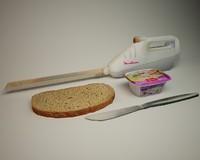 3d model electric knife