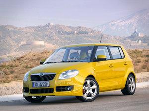 skoda fabia sport car 3d model