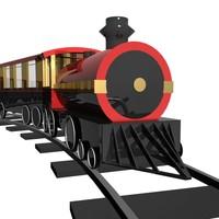 Train running preloader
