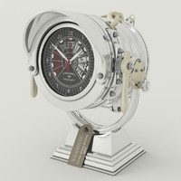 clock royal master eichholtz 3d 3ds