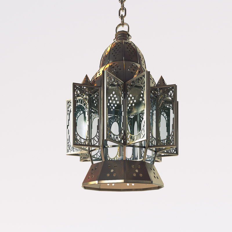 Wall Lamps 3d Model Free : free arabic lamp 3d model