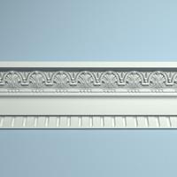 peterhof cornice molding 3d model