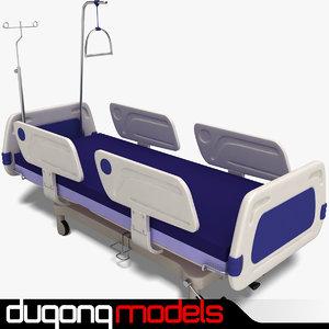 3ds dugm04 hospital bed