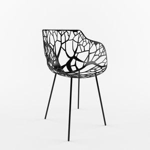 3d mesh chair furniture model