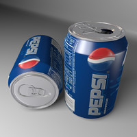 Pepsi Soft Drink Can