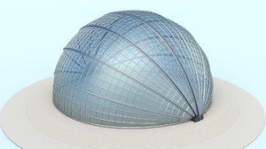rotating glass dome